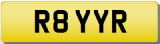 ROY RAY R Private Registration Cherished Number Plate ROYSTON ROYSTEN LEROY